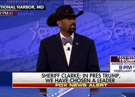 Sheriff Clarke at CPAC: 'In President Donald Trump, We Have Chosen a Leader'