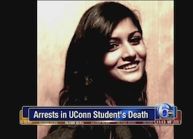 6 charged in death of UConn student run over after party