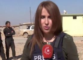 Mosul battle: Kurdish reporter Shifa Gardi killed in Iraq - BBC News