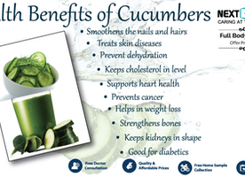 Know The Health Benefits Of Cucumber & Its Nutritional Value