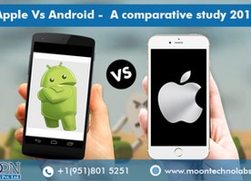 Apple Vs Android - A comparative study 2017 - Moon Technolabs
