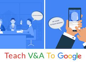 Teach V&A To Google