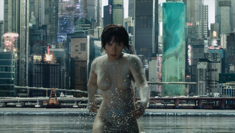 GHOST IN THE SHELL in theaters nationwide on March 31, 2017 in REALD 3D and IMAX 3D