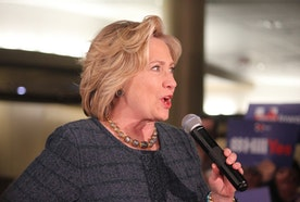 HILLARY CLINTON IS COMING TO WELLESLEY THIS THURSDAY