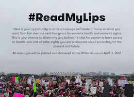 Ready to Join the #ReadMyLips Movement? Click Here to Learn More!
