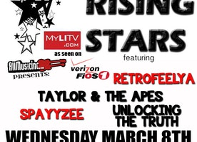 Rick's Rising Stars Returns to Revolution Bar & Music Hall Wednesday, March 8th with Unlocking the Truth, Spayyzee, Taylor and the Apes, and Retrofeelya