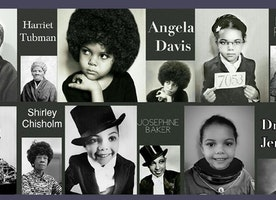 Kent kindergartner transforms appearance daily to honor notable black women