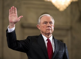 Analysis | Jeff Sessions is in deep trouble. Bigly.