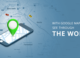 WITH GOOGLE MAP UPDATE SEE THROUGH THE WORLD