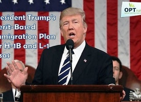 Donald Trump's call for Merit-Based Immigration System | OPT Nation