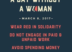 #Grateful for #women #daywithoutawoman #Iam #Love #actionsspeaklouderthanwords