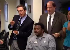 Do you know how to get a song out of your head? I can't stop singing the Dunder Mifflin theme song lol.