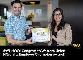 """Congrats, #WUHQ, recipient of a 2019 """"Way to Go"""" Award!"""