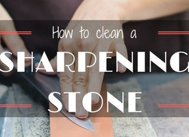 A Guide About How To Clean A Sharpening Stone - Just Another Food Blog - GoodFoodFun.Com