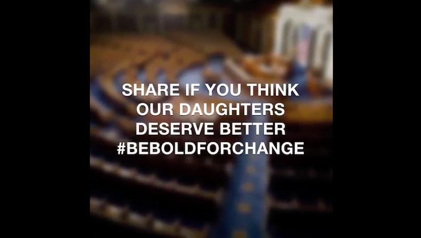 #BeBoldForChange on International Women's Day