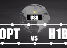 Differentiate Between: OPT vs H1B