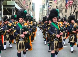 NYC St. Patrick's Day Celebration at Treadwell Park 2017