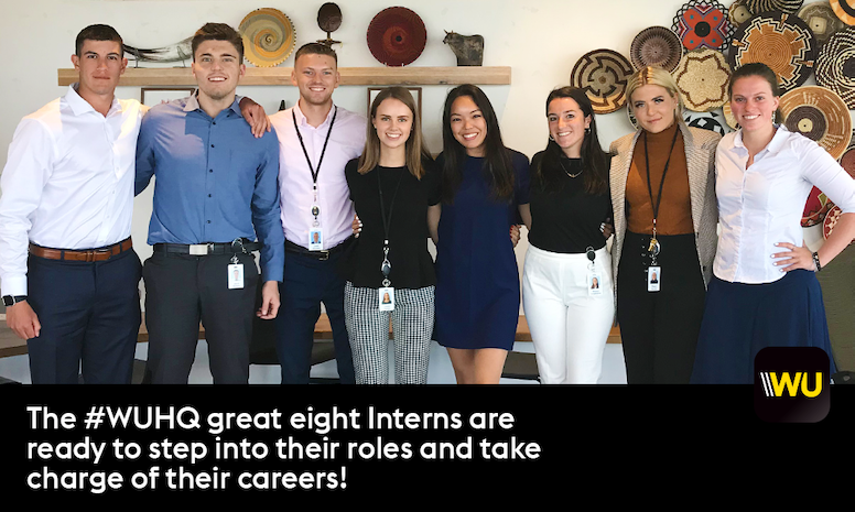 Say hello to our #WUHQ Summer Interns!