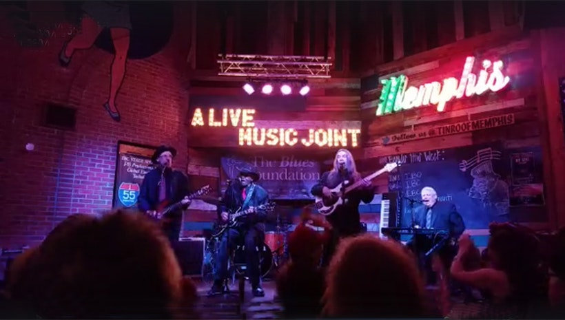 The Johnny Mac Band Rock International Blues Challenge in Memphis TN, Gearing Up for More Upcoming NY Shows
