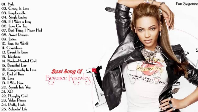 Beyonce's Best Songs Playlist - Mogul Beyonce Songs