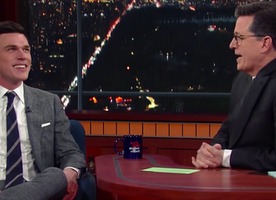 If you don't know about actor Finn Wittrock yet, this Colbert interview is the perfect intro! Go, Finn, go!