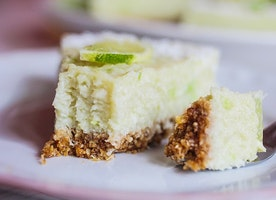 Coconut Lime Tart - Just Another Food Blog - GoodFoodFun.Com