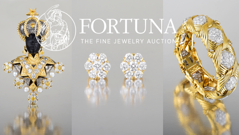 "Fortuna Auction Presents ""Spring Jewels"" Online & Live in NYC 04/06"