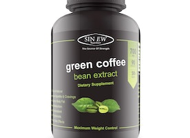 Sinew Nutrition Green Coffee Beans Extract 700 mg (90 Pure Veg Capsules), 100 % Pure & Natural Weight Management & Appetite Suppressant Supplement