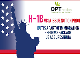 H1B Visas Issue not Priority but to be Part of Immigration Packages