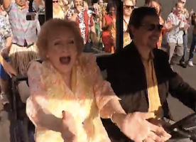 Betty White's Birthday Surprise Left Me Speechless (and made me that much more a fan)