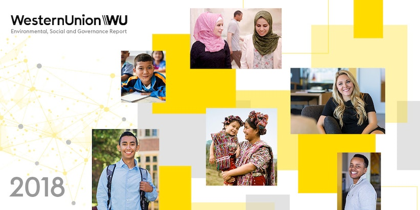 Western Union shares its commitment to global issues with its inaugural #ESGReport.