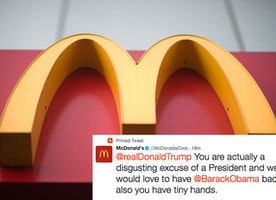 "McDonald's Just Called Trump ""A Disgusting Excuse Of A President"" On Twitter"