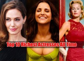Top 10 Highest Actresses