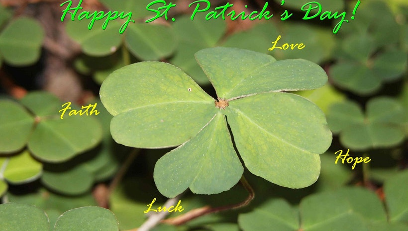 Saint Patrick's Day Verse