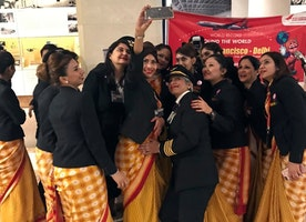 Air India's all-female crew makes history