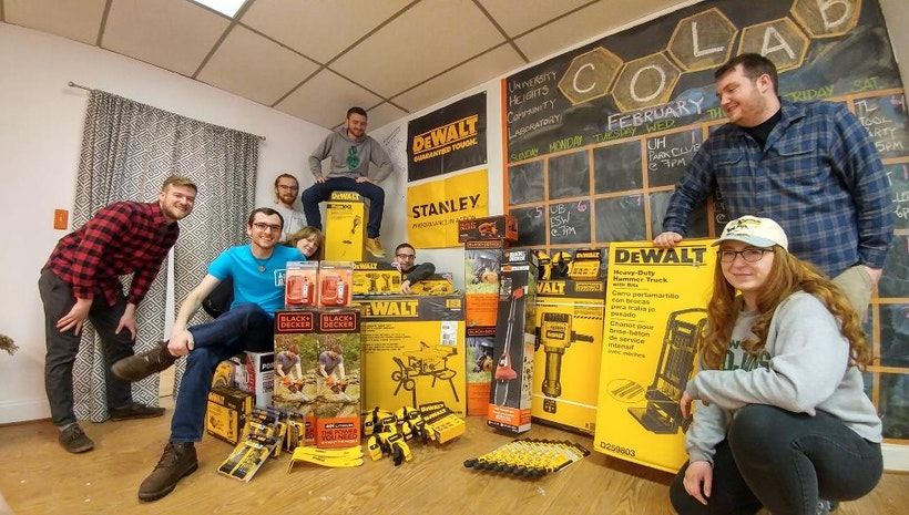 University Heights Tool Library hits 2,000 tool mark thanks to grant from Stanley Black & Decker