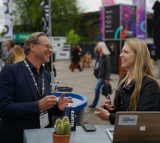 Web Developer Julia in conversation with Jeroen Tas, Philips Chief Innovation & Strategy Officer