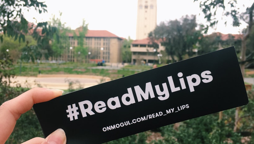 Spot the #ReadMyLips at Stanford