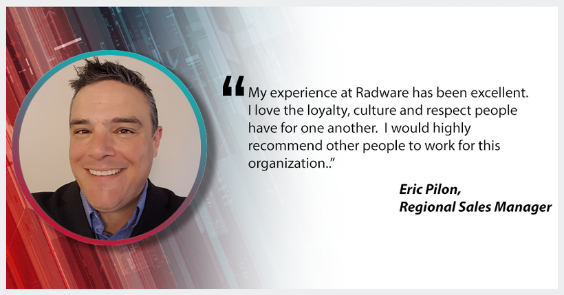 WHY WORK AT RADWARE