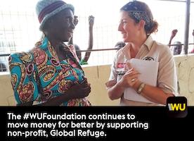Global Refuge receives WU Foundation grant