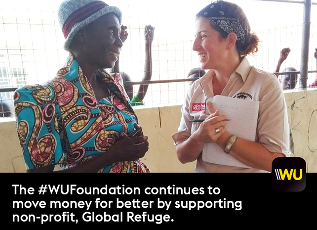 Global Refuge receives WU Foundation grant