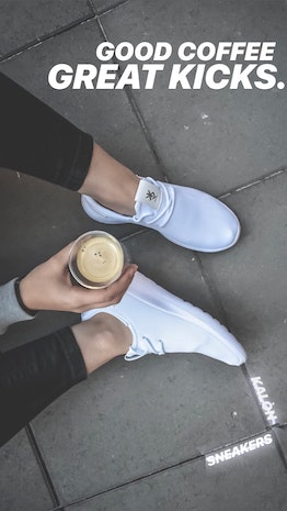 Coffee & KALON Sneakers