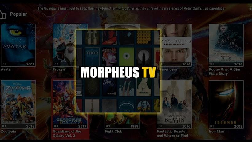 MORPHEUS TV FOR LAPTOP WINDOWS