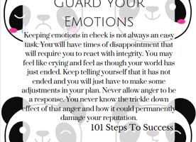 Guard your Emotions