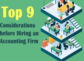 Considerations before Hiring Accounting Firms