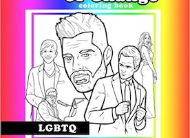 Agents of Change - LGBTQ Coloring Book