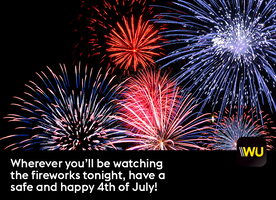 Happy Independence Day! Celebrate with a bit of #WUSparkle!