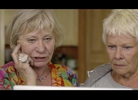 Judi Dench delves into the world of online dating | Starts at 60