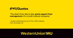 Explore your next work opportunity and #JoinWU