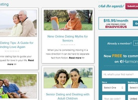 eHarmony for Seniors Best for Finding Serious Relationships?
